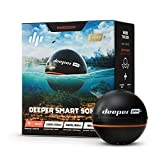 Deeper PRO+ Smart Sonar - GPS Portable Wireless Wi-Fi Fish Finder for Shore and...