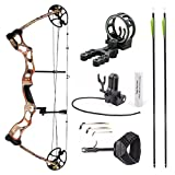 Leader Accessories Compound Bow Hunting Bow 50-70lbs with Max Speed 310fps...