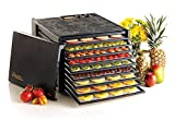 Excalibur 3926TB 9-Tray Electric Food Dehydrator with Temperature Settings and...