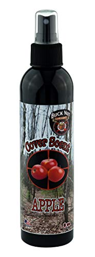 Buck Nut Apple Cover Scent (8oz Bottle)