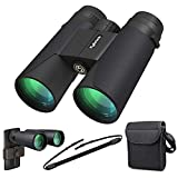 Kylietech 12X42 Binoculars with Phone Adapter Professional HD Compact Waterproof...