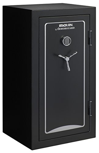 Stack-On A-40-MB-E-S Armorguard 40-Gun Safe with Electronic...