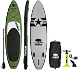 Atoll 11'0' Foot Inflatable Stand Up Paddle Board, (6 Inches...