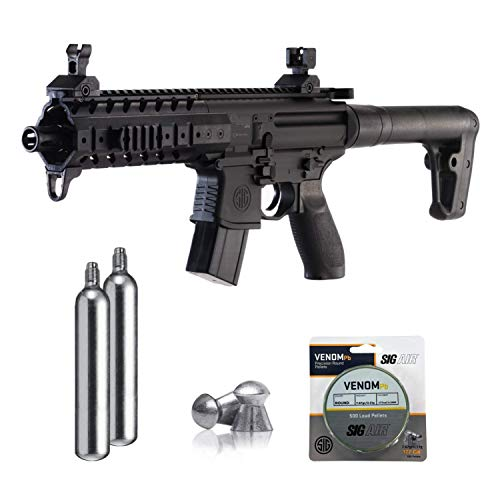 SIG Sauer MPX .177 Cal CO2 Powered Air Rifle with