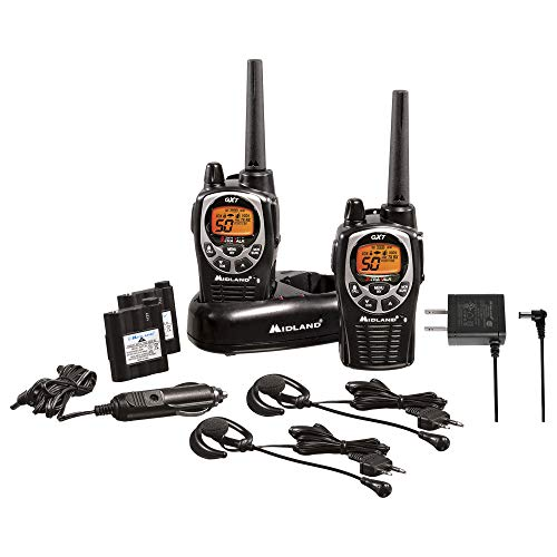 Midland 50 Channel Waterproof GMRS Two-Way Radio - Long...