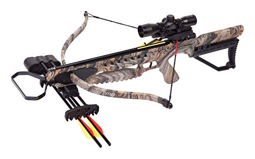 CenterPoint Tyro 4X Recurve Crossbow Package With 4x32mm...