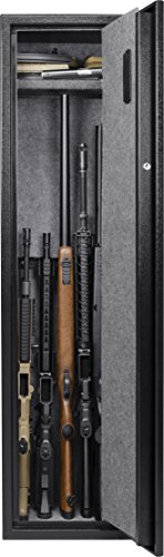 BARSKA New Large Quick Access Biometric Rifle Gun Safe Cabinet