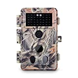 Meidase Trail Camera 16MP 1080P, Game Camera with No Glow...