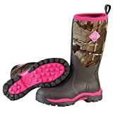 Muck Woody PK Rubber Women's Hunting Boots,Bark, Realtree...