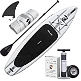 """Tower Inflatable 10'4"""" Stand Up Paddle Board - (6 Inches..."""