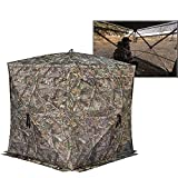 Rhino Blinds R180 3 Person See Through Hunting Ground Blind,...