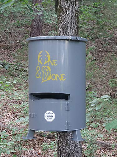One and Done Game Feeder - Loads 130 lbs, 250 lbs, 500 lbs Feed