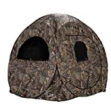Rhino Blinds R75-RTE 2 Person Hunting Ground Blind, Realtree...