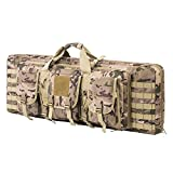 ARMYCAMOUSA 42 Inch Double Rifle Bag Outdoor Tactical...