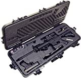 Case Club Pre-Made AR15 Waterproof Rifle Case with Silica...