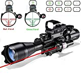 Rifle Scope Combo C4-16x50EG Dual Illuminated with Laser...