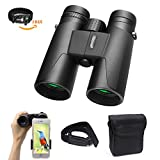 Holisouse 10x42 Binoculars for Adults Compact HD Professional Folding Roof Prism...