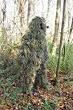 Lightweight Woodland Ghillie Suit Camo Sniper Jacket with...