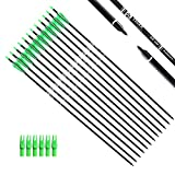 Tiger Archery 30Inch Carbon Arrow Practice Hunting Arrows...