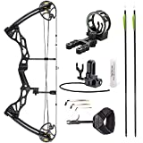 Leader Accessories Compound Bow Hunting Bow 50-70lbs with...